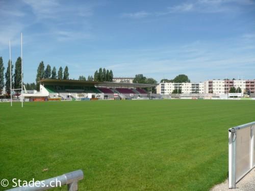 Les stades de rugby, villes de A à D. BourgEnBresse-Verchere-11_500x375