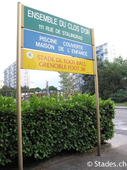 Grenoble stade du clos d 39 or for Piscine clos d or grenoble